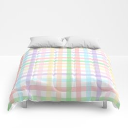 Gingham Squares Comforters