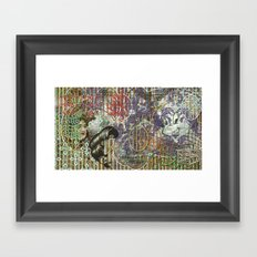 The Set Relationship Between: (A.) An Invisible Woman and (B.) The Ghost Club Framed Art Print