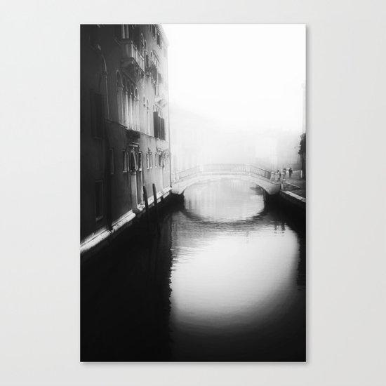 Under the bridge- Canvas Print