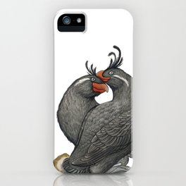 Crested Auklet (Aethia cristatella) iPhone Case