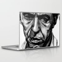 frank sinatra Laptop & iPad Skins featuring Only the Lonely - Frank Sinatra by Tiffany Tate