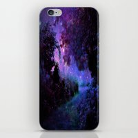fantasy iPhone & iPod Skins featuring Fantasy Path Purple by 2sweet4words Designs