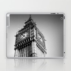 Ben looms in black and white, too. Laptop & iPad Skin