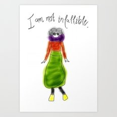 Skirty Art Print