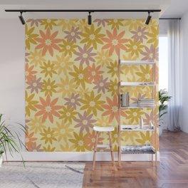 LeafStars Wall Mural