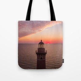 Little Sable Sunset Tote Bag