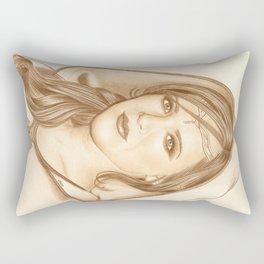 Elf Lady Rectangular Pillow