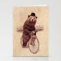 jazzberry Stationery Cards featuring Barnabus by Eric Fan