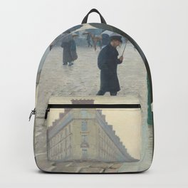 Paris Street; Rainy Day Backpack