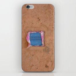 window in the mud iPhone Skin