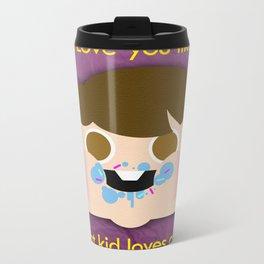 Fattycake love Metal Travel Mug
