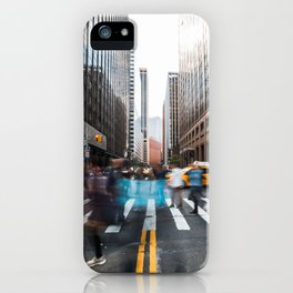 Streets in Motion iPhone Case