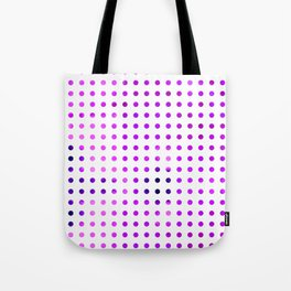 Polka Dot-violet Tote Bag