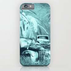 cars and butterflies in moonlight Slim Case iPhone 6s