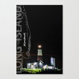 Long Island - New York. Canvas Print