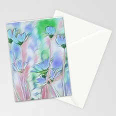 Coming Up Blue Stationery Cards