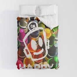 Crayon HAPPY Comforters