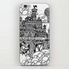 Floating city iPhone & iPod Skin