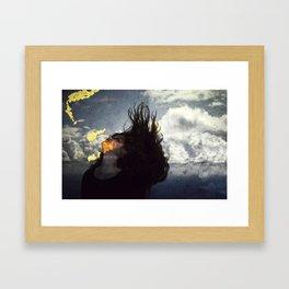 Fallen. Framed Art Print