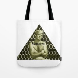 Vintage Sailor Gay Art - Vultures Pyramid Tote Bag