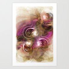 Magic Pearls Art Print