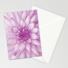 Dahlia Radiant Orchid  - JUSTART © Stationery Cards