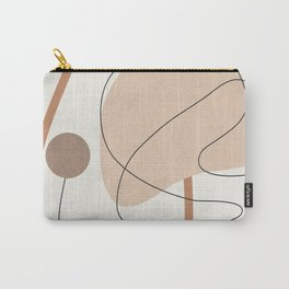 Abstract Line Movement III Carry-All Pouch