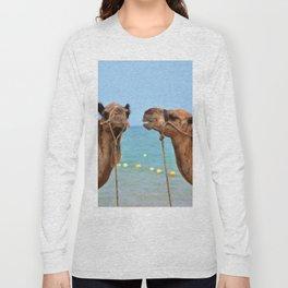 Beach camels Long Sleeve T-shirt