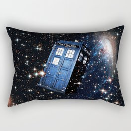 Tardis In Space 2 Rectangular Pillow