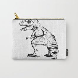 Unravelled T-Rex Dinosaur Carry-All Pouch