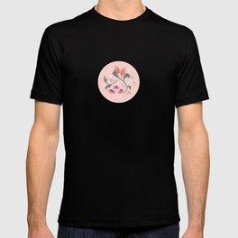 Flower Meadow - Pink T-shirt