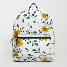 Little yellow flowers Backpack