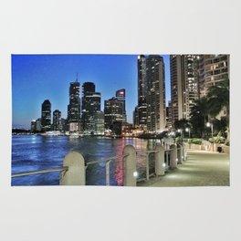 Brisbane River Walk Rug