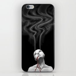 Burned Out iPhone Skin