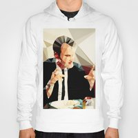 reservoir dogs Hoodies featuring Quentin Tarantino // Reservoir Dogs by VIVA LA GRAPH!