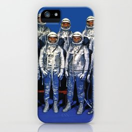 ASTRONAUTS & BUTTERFLIES iPhone Case