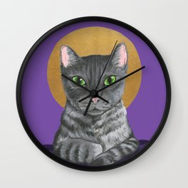 Lord Catpernicus Wall Clock