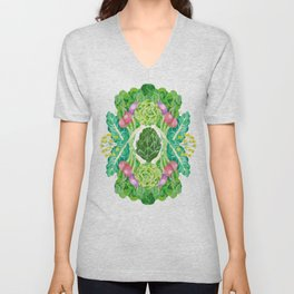 Veggies Unisex V-Neck