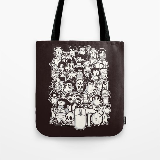 Point and Click  Tote Bag