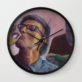 Times Like These Wall Clock