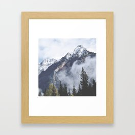 Mount Wanderlust Framed Art Print