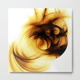 abstract fractals 1x1 reacc80c82i Metal Print