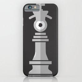 king eye b&w iPhone Case