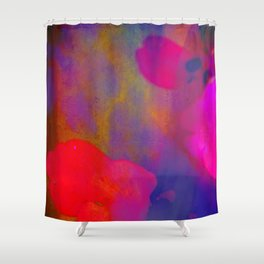 She Always Colored Outside the Lines Shower Curtain