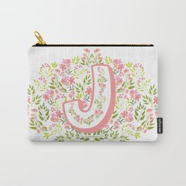 J Garden Monogram Carry-All Pouch