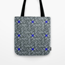 Making Waves Gray Tote Bag