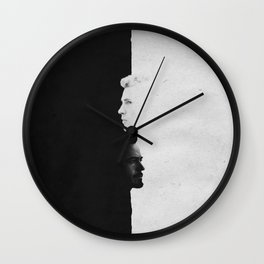 Tony & Steve | Split Wall Clock