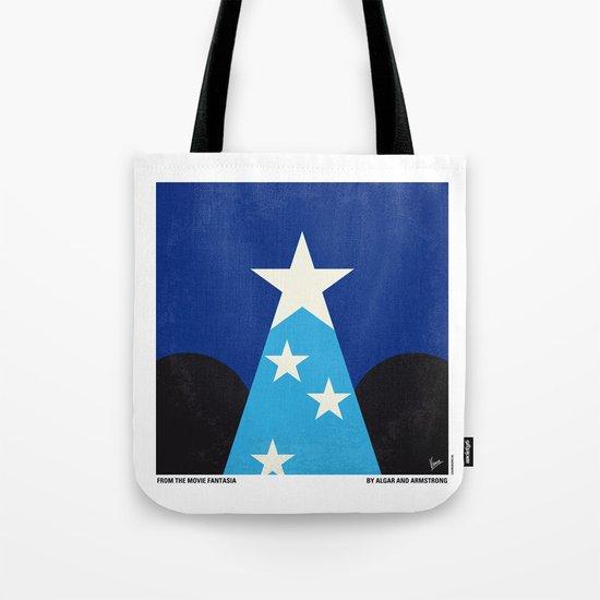 No242 My Fantasia minimal movie poster Tote Bag