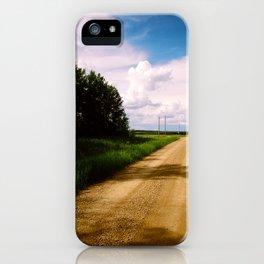 Prairie Road iPhone Case