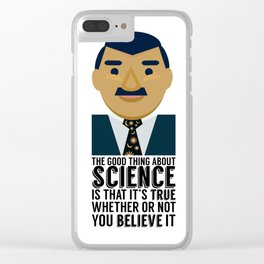 Neil deGrasse Tyson: Science IS Real Clear iPhone Case